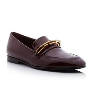 Brand New BURBERRY Chillcot Patent Leather Loafers